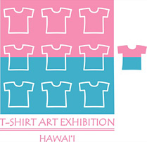 ALOHA ART WEEK Staff T-shirt